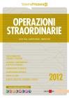 Operazioni straordinarie 2012
