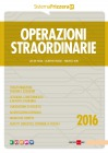 Operazioni straordinarie 2016