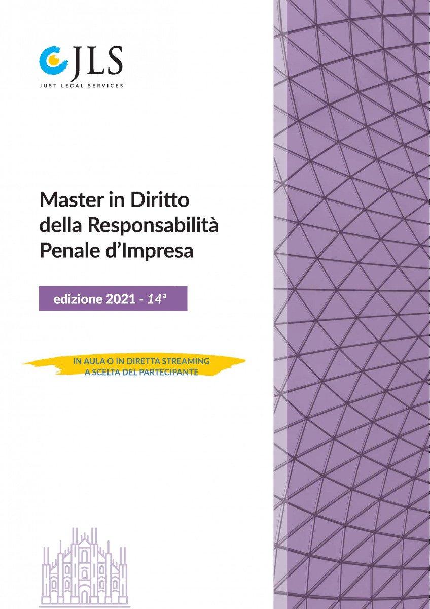 """Andrea Bolletta tra i relatori al Master """"Diritto della responsabilità penale d'impresa"""" organizzato da Just Legal Services"""