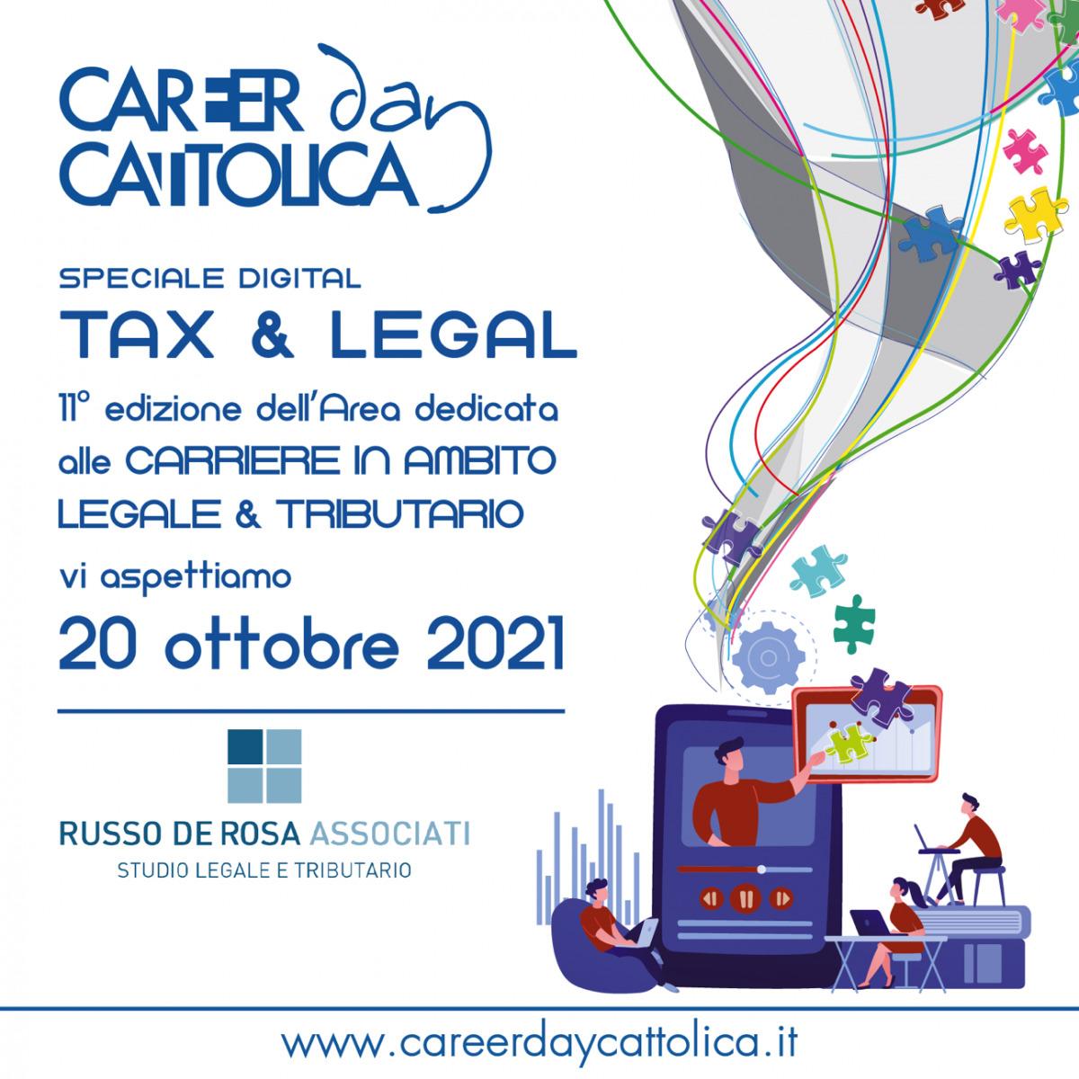 Career Day Università Cattolica del Sacro Cuore 20 Ottobre 2021