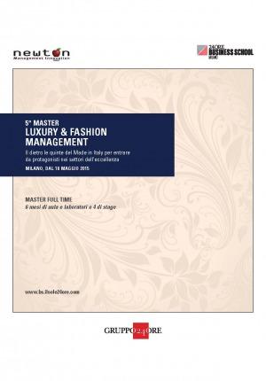 5° Master Luxury & Fashion de IlSole24ore Business School sul tema del licensing nel settore della moda e del lusso