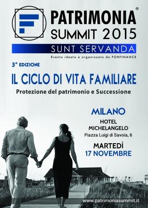 Patrimonia Summit 2015