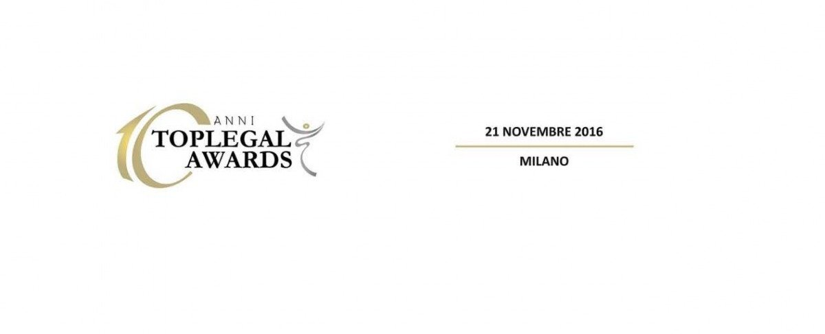 Leo De Rosa nominee at TopLegal Awards 10th edition
