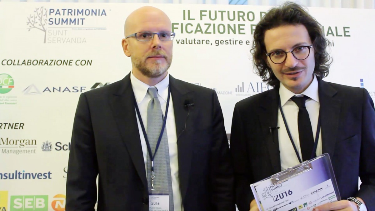 Leo De Rosa interviewed at Patrimonia Summit 2016