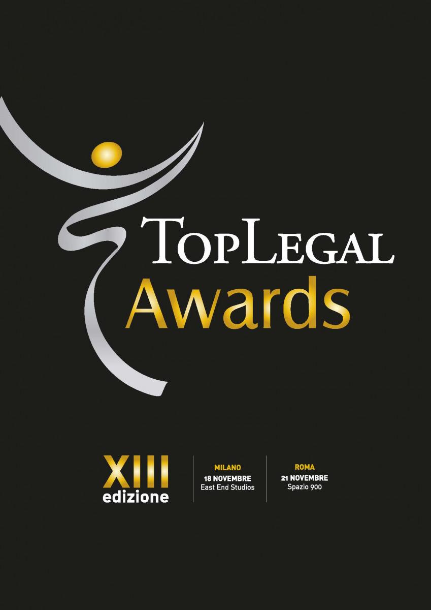 Lo Studio e Leo De Rosa finalisti ai Top Legal Awards 2019
