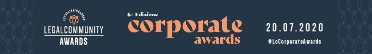 Lo Studio e Leo De Rosa tra i finalisti ai Legalcommunity Corporate Awards 2020