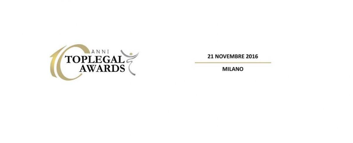 Leo De Rosa finalista alla X edizione dei TopLegal Awards